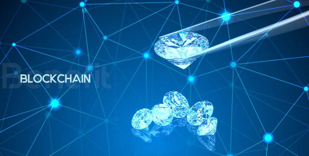 Everledger is een voorbeeld waarbij de authenticiteit van diamanten via de blockchain gewaarborgd wordt.